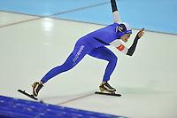 SCHAATSEN: HEERENVEEN: 28-12-2013, IJsstadion Thialf, KNSB Kwalificatie Toernooi (KKT), 500m, Floor van den Brandt, ©foto Martin de Jong