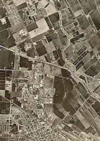 historical aerial photograph Santa Clara, California, 1960