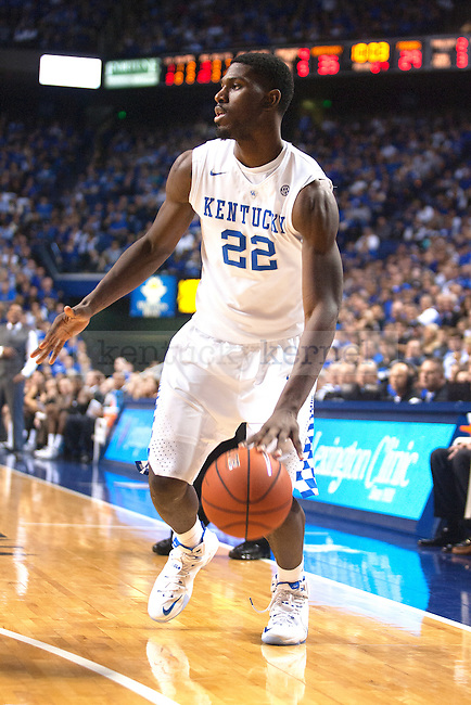 Forward Alex Poythress of the Kentucky Wildcats drives to the basket during the second half of the game against the Providence Friars at Rupp Arena on Sunday, November 30, 2014 in Lexington, Ky. Kentucky defeated Providence 58-38. Photo by Michael Reaves | Staff