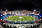 A view of  Vicente Calderón Stadium, home of Atletico de Madrid prior to the 2016-17 UEFA Champions League match between Atletico de Madrid vs PSV Eindhoven at the  on 23 November 2016 in Madrid, Spain. Photo by Diego Gonzalez Souto / Power Sport Images