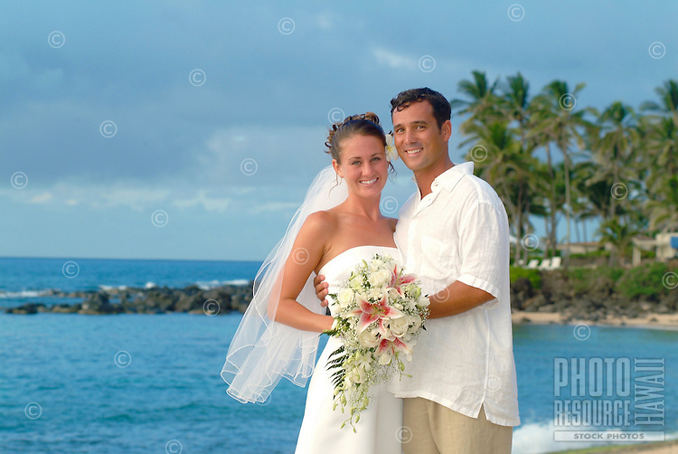 Wedding on the beach in Hawaii