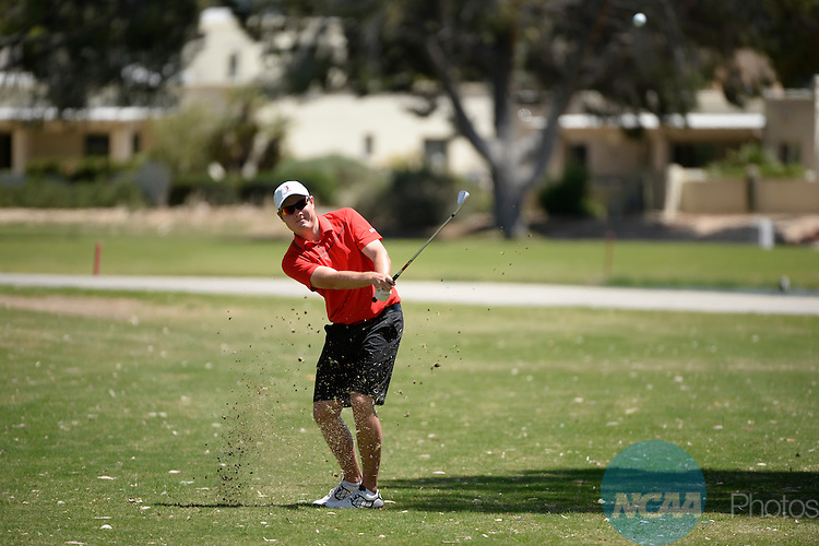 27 APR 2014:  The Mountain West Conference Men's Golf Championship takes place at the Omni Tucson National in Tucson, AZ.  Jamie Schwaberow/NCAA Photos