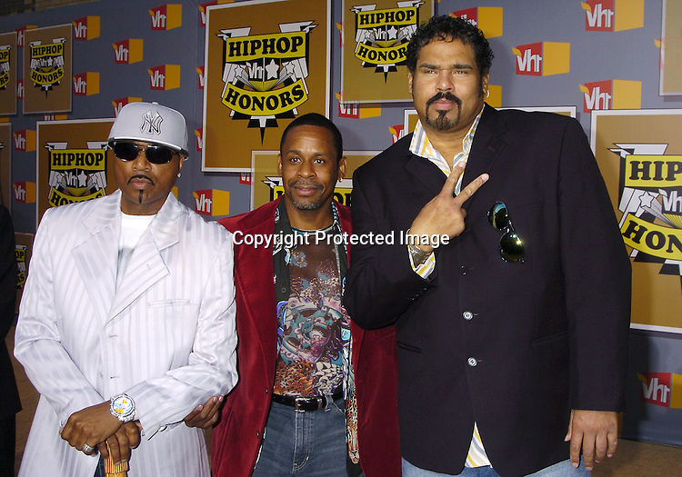 Sugar Hill Gang now known as MG Squad ..at the 2nd Annual VH1 Hip Hop Honors taping on ..September 22, 2005 which will air on VH1 on September 26, 2005. ..Photo by Robin Platzer, Twin Images