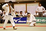 (L-R)<br /> Kohei Hayashi,<br /> Dai Aoki,<br /> September 13, 2014 - Judo : <br /> All Japan Juior Judo Championships <br /> Men's -60kg Final<br /> at Saitama Kenritsu Budokan, Saitama, Japan. <br /> (Photo by Shingo Ito/AFLO SPORT) [1195]