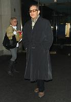 NEW YORK, NY - JANUARY 30: Michael York at NBC's Today Show in New York City. January 30, 2013. Credit:: RW/MediaPunch Inc. /NortePhoto