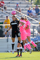 Brittany Bock (21) of the Western New York Flash. The Western New York Flash defeated Sky Blue FC 2-0 during a Women's Professional Soccer (WPS) match at Yurcak Field in Piscataway, NJ, on July 17, 2011.