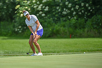 Brittany Lang (USA) watches her putt on 10 during round 1 of the 2018 KPMG Women's PGA Championship, Kemper Lakes Golf Club, at Kildeer, Illinois, USA. 6/28/2018.<br /> Picture: Golffile | Ken Murray<br /> <br /> All photo usage must carry mandatory copyright credit (&copy; Golffile | Ken Murray)