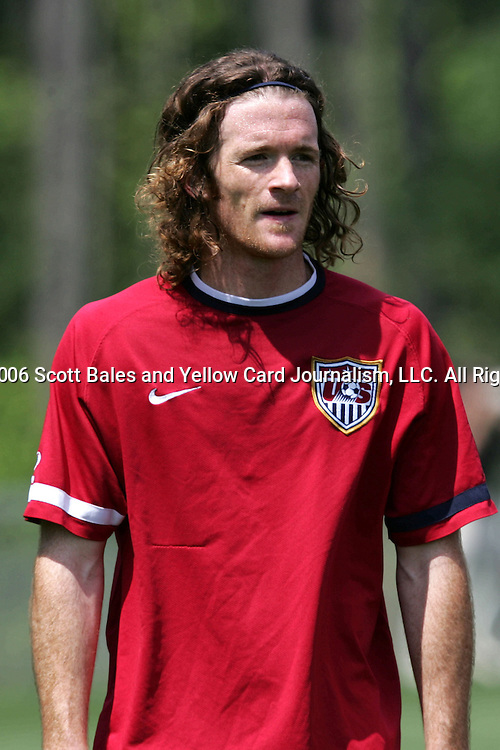 16 May 2006: Midfielder John O'Brien. The United States' Men's National Team trained at SAS Soccer Park in Cary, NC, in preparation for the 2006 World Cup tournament to be played in Germany from June 9 through July 9, 2006.