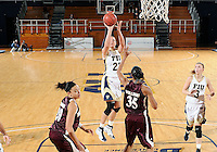 Florida International University forward Finda Mansare (23) plays against ULM. FIU won the game 65-55 on January 07, 2012 at Miami, Florida. .
