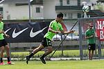 11.07.2017, Sportplatz, Zell am Ziller, AUT, TL Werder Bremen 2017 - Training Tag 05, <br /> <br /> im Bild <br /> Yuning Zhang (Neuzugang SV Werder Bremen #19)<br /> <br /> Foto &copy; nordphoto / Kokenge