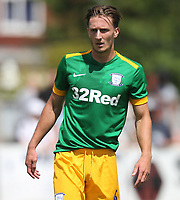 Preston North End's Ben Davies<br /> <br /> Photographer Mick Walker/CameraSport<br /> <br /> Pre-Season Friendly -Bamber Bridge v Preston North End  - Saturday 7th July  2018 - Irongate Stadium,Bamber Bridge<br /> <br /> World Copyright &copy; 2018 CameraSport. All rights reserved. 43 Linden Ave. Countesthorpe. Leicester. England. LE8 5PG - Tel: +44 (0) 116 277 4147 - admin@camerasport.com - www.camerasport.com