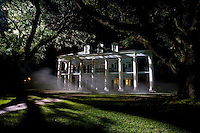 The plantation house home in Lifetime Television's movie of Nora Robert's novel 'Midnight Bayou.'