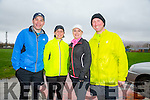 Phillip Sicat, Rose Brosnan, Ann Sicat and Mike Brosnan at  the Kerins O'Rahilly's '1916' 10k Run on Sunday