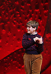 Johnny Rabe during the Broadway Opening Night Performance Curtain Call for 'A Christmas Story - The Musical'  at the Lunt Fontanne Theatre in New York City on 11/19/2012.