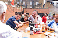 CPGB ML International BBQ celebrating milestones in the founding of the Korean and Cuban nations
