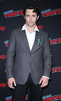 NEW YORK, NY - October 6:   Nathan Parson at New York Comic Con 2018 promoting The CW's  Roswell, New Mexico at the Jacob K. Javits Convention Center in New York City on October 06, 2018. <br /> CAP/MPI/RW<br /> &copy;RW/MPI/Capital Pictures