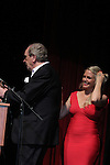 Terri Conn introduced Danny Aiello who was being honored with HIFF's Award in Excellence - Terri was on One Life To Live and Danny's son worked on One Life To Live and spoke about his son - Hoboken International Film Festival opening night June 3 and continuing through June 9, 2016 at the Paramount Theatre in Middletown, New York honoring Martin Kove and Danny Aiello. (Photo by Sue Coflin/Max Photos)