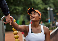 Hilversum, Netherlands, August 13, 2016, National Junior Championships, NJK, Dainah Cameron (NED) wins girls 16 years<br /> Photo: Tennisimages/Henk Koster