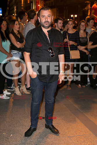 Felix Sabroso attends the party of Nike and Roberto Tisci at the Casino in Madrid, Spain. September 15, 2014. (ALTERPHOTOS/Carlos Dafonte) /NortePhoto.com