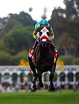 MAY 27: Desert Stone races in the Shoemaker Mile at Santa Anita Park in Arcadia, California on May 27, 2019. Evers/Eclipse Sportswire/CSM