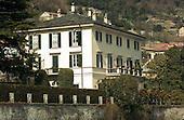 Laglio, Lake Como, Italy - March 22, 2006 -- View from Lake Como of the estate known as Villa Oleandra belonging to actor/producer/director/writer George Clooney.  He purchased the 25-room villa in 2001 from the Heinz family.  It's said to have an outdoor theater, a large swimming pool and a garage for Clooney's motorcycles..Credit: Ron Sachs / CNP