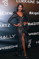 NEW YORK, NY - OCTOBER 23: Ubah Hassan at Gabrielle's Angel Foundation for Cancer Research  Angel Ball 2017 on October 23, 2017 in New York City. Credit: Diego Corredor/MediaPunch /NortePhoto.com