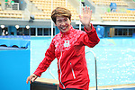 Masayo Imura (JPN), <br /> AUGUST 16, 2016 - Synchronized Swimming : <br /> Duets Free Routine Final <br /> at Maria Lenk Aquatic Centre <br /> during the Rio 2016 Olympic Games in Rio de Janeiro, Brazil. <br /> (Photo by Yohei Osada/AFLO SPORT)