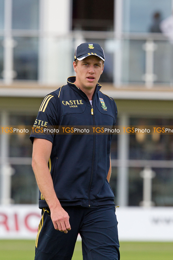 Morne Morkel, South Africa - Kent CCC vs South Africa - Tourist Match Cricket at The St Lawrence Ground, Canterbury - 13/07/12 - MANDATORY CREDIT: Ray Lawrence/TGSPHOTO - Self billing applies where appropriate - 0845 094 6026 - contact@tgsphoto.co.uk - NO UNPAID USE.