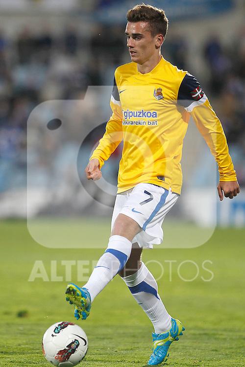 Real Sociedad's Antoine Griezman during La Liga match.March 17,2012. (ALTERPHOTOS/Acero)