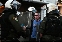 2016 05 08 Riots during MPs vote on tax, pension and welfare reforms, Athens, Greece