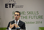- ALBANIA - 06 October 2014 – Skills for the Future: South Eastern and Turkey –  Erion Veliaj, Minister of Social Welfare and Youth of Albania. PHOTO: EUP-Images - Gent SHKULLAKU / Light Studio Agency (LSA)