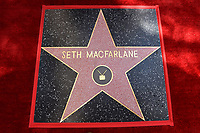 HOLLYWOOD, CA - APRIL 23: Seth MacFarlane receives a star on the Hollywood Walk of Fame on April 23, 2019 in Hollywood, California. (Photo by Lionel Hahn/Fox/PictureGroup)