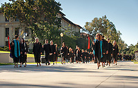 Incoming first-years start the year at Occidental College's 127th annual Convocation ceremony on Aug. 28, 2013 in Thorne Hall.<br /> (Photo by Marc Campos, Occidental College Photographer)