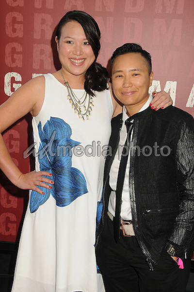 "10 June 2015 - Los Angeles, California - Emily Ting, Sophia Shek. LA Film Festival 2015 Opening Night Premiere of ""Grandma"" held at Regal Cinemas LA Live. Photo Credit: Byron Purvis/AdMedia"
