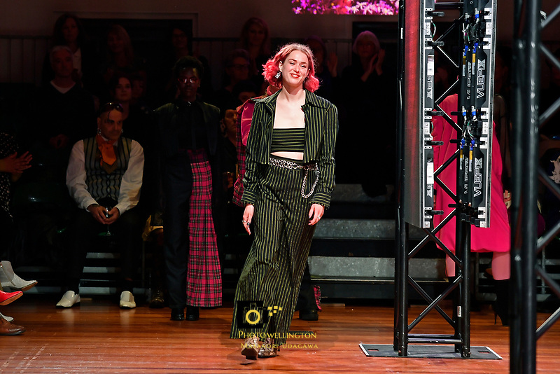 Massey University Exposure Fashion Show at Old Museum Building - Massey University, Wellington, New Zealand on Friday 9 November 2018. <br /> Photo by Masanori Udagawa. <br /> www.photowellington.photoshelter.com