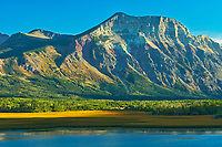 Vimy Ridge. Canadian Rocky Mountains, Waterton Lakes  National Park, Alberta, Canada