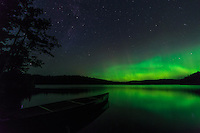 """Aurora on Roland Lake""<br />