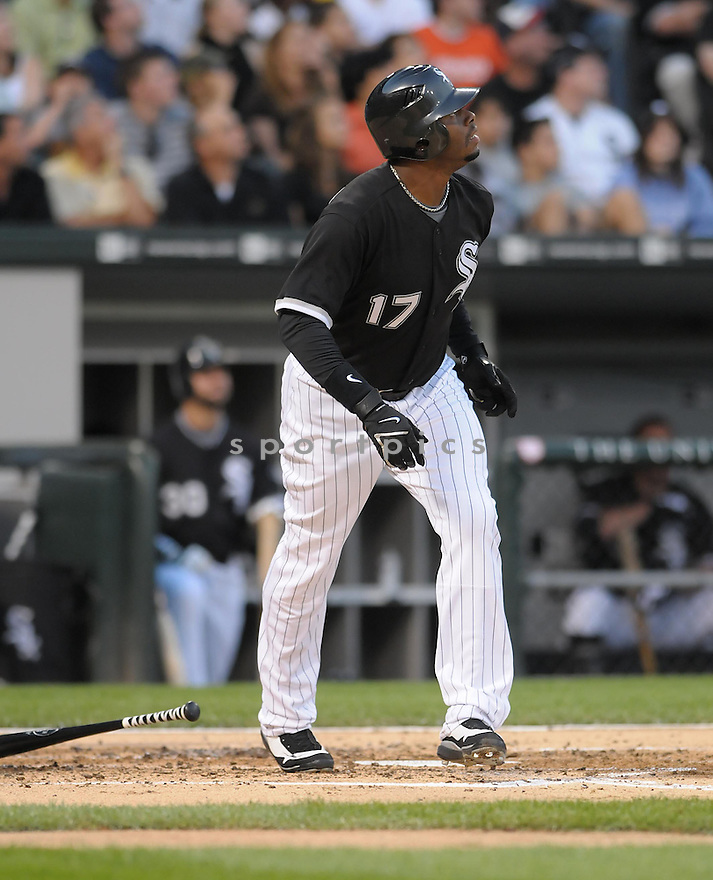 KEN GRIFFEY JR., of the Chicago White Sox, in action during the White Sox, game against the Kansas City Royals, in Chicago, IL  on August 12, 2008..The Chicago White Sox,  won 9-0