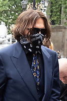 JUL 09 Johnny Depp at The Royal Courts of Justice, London, UK