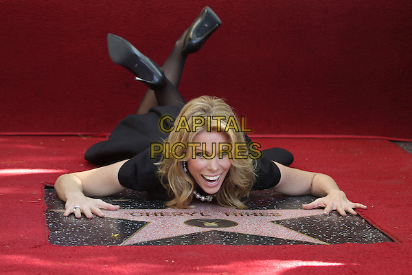 HOLLYWOOD, CA - January 29: Cheryl Hines at the Cheryl Hines Star on the Hollywood Walk of Fame, Hollywood,  January 29, 2014<br /> CAP/ADM/FS<br /> &copy;Faye Sadou/AdMedia/Capital Pictures