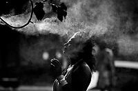 Como, lungolago, fontane e vaporizzatori contro il gran caldo