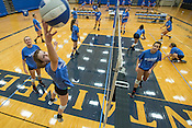 Rogers High School volleyball Practices 8/4/16