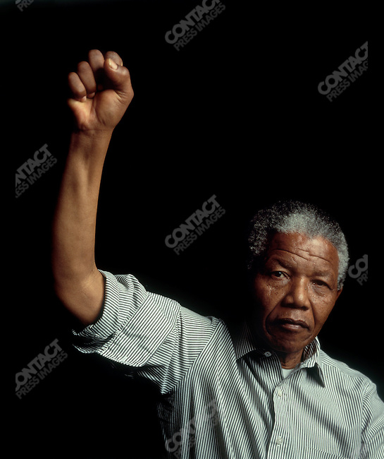 Nelson Mandela, Soweto, South Africa, June 1990.