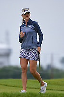 Jessica Korda (USA) after sinking her putt on 2 during the round 2 of the KPMG Women's PGA Championship, Hazeltine National, Chaska, Minnesota, USA. 6/21/2019.<br /> Picture: Golffile | Ken Murray<br /> <br /> <br /> All photo usage must carry mandatory copyright credit (© Golffile | Ken Murray)