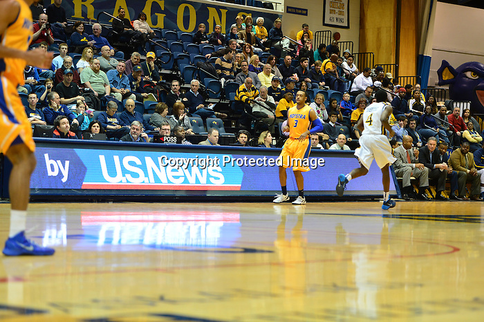 Philadelphia, Pa.  &ndash; Frantz Massenat scored 24 points and added seven assists as Drexel defeated Hofstra, 74-63, on Sunday night at the Daskalakis Athletic Center. The Dragons broke open a close game by shooting 55 percent in the second half.<br /> <br /> Drexel (14-11, 6-6 CAA) led by just three with 11:46 to play in the contest after Chris Fouch was called for a flagrant one foul when he inadvertently hit a Hofstra player with an elbow as he was shooting a jump shot. The Pride (8-19, 4-8) made one of two free throws to make it a 47-44 game. The Dragons responded with 10 straight points as part of a 14-3 run. Fouch scored 11 of those 14 points and capped the run with a four-point play, giving the Dragons a 61-47 advantage. The Pride would not be able to cut the lead to single digits the rest of the way.<br /> <br /> Massenat continued his outstanding play in league games. The senior, who moved into eighth place on the school's all-time scoring list, was 7-for-12 from the field and was 5-for-7 from behind the arc. Fouch finished with 16 points, 14 of them coming in the second half. Rodney Williams added 11 points and seven boards, while Dartaye Ruffin was also in double figures with 10 points. He had a game-high nine rebounds. The Dragons shot 53 percent from behind the arc including 7-for-10 in the second half.<br /> <br /> Zeke Upshaw finished with 20 points to lead the Pride. He made five three-pointers and had four assists. Jordan Allen scored 10 points.