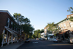 This image is of the quaint village of Woodstock, Vermont.  Woodstock is located in the central eastern part of Vermont.