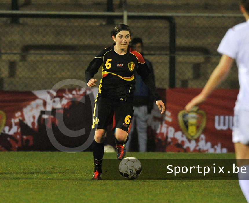 Netherlands U17 - Belgium U17 : Noemie Gelders.foto Joke Vuylsteke / Vrouwenteam.be