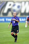 1 August 2003: Tiffeny Milbrett. The Boston Breakers defeated the New York Power 3-2 at Mitchel Field in Uniondale, NY in a regular season WUSA game.