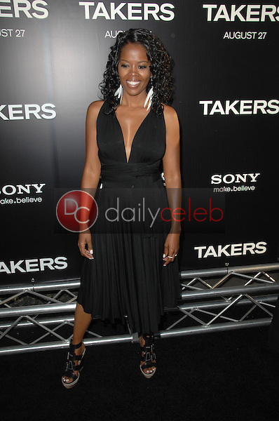 "Malinda Williams<br /> at the ""Takers"" World Premiere, Arclight Cinerama Dome, Hollywood, CA. 08-04-10<br /> David Edwards/Dailyceleb.com 818-249-4998"