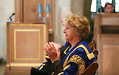 The Pro-Chancellor, actress Penelope Keith, at the degree ceremony, University of Surrey.